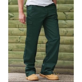 Russell Polycotton Twill Trousers Front