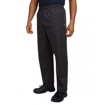Dennys Budget AFD Chefs Trousers in Black