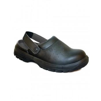 DK41 Dennys Comfort Safety sandal with heel strap