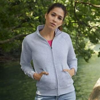 Women's Premium Zip 70/30 Sweatshirt