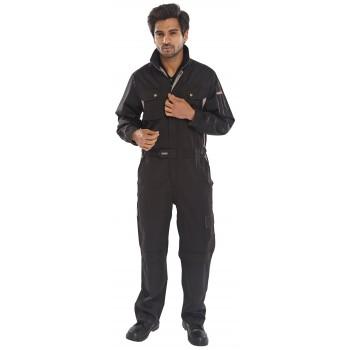 Click Premium Boilersuit Coverall in Black