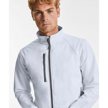 Mens Russell Softshell Model View
