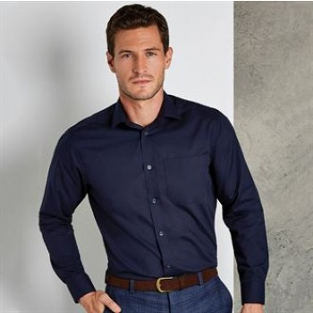 EWKK142 Men's Long Sleeve Poplin Bar Shirt