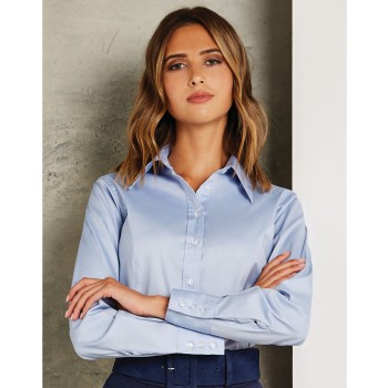 Tailored Fit Long Sleeve Premium Oxford Blouse