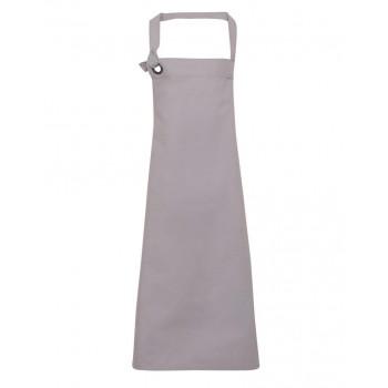 Calibre heavy cotton canvas apron in Silver
