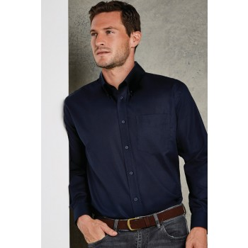 Classic Fit Long Sleeve Workwear Oxford Shirt