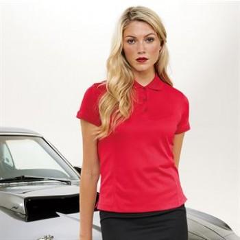 PR616 Womens Coolchecker® piqué polo