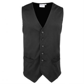 PR620 Premier Hospitality waistcoat in Black