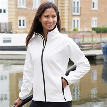 Result Core Women's Contrast Printable softshell jacket
