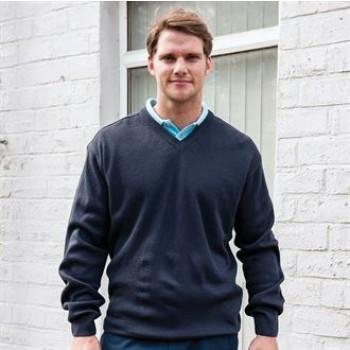 RTY V-neck Acrylic Sweater