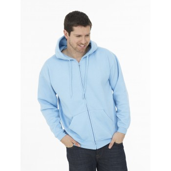300gsm Full Zip Hooded Sweatshirt