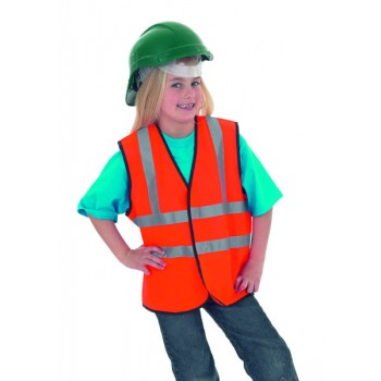 Child's Hi-Vis Sleeveless Safety Waist Coat